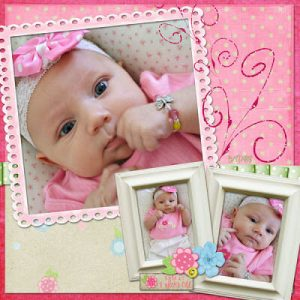 Cute Baby Layout