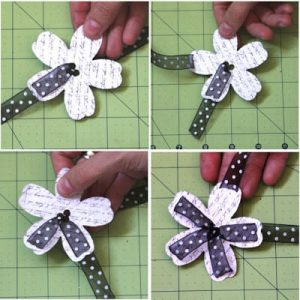 DIY Flower embellishment