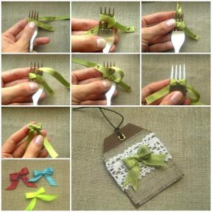 DIY-Satin-Ribbon-Bow-with-a-Fork