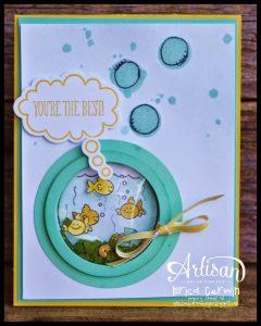 shaker fish card