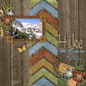Hiking template