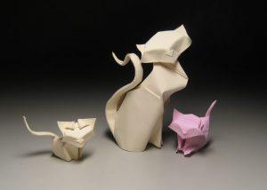 Cat origami