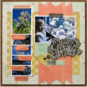Fill book for Scrapbooking