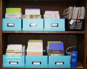 Scrap paper organizing