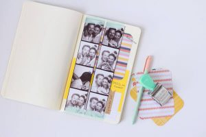 Photo booth journal