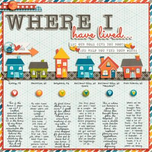 Places I have Lived