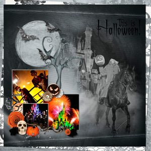 Halloween_scrapbook layout