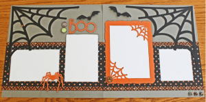 Halloween layout